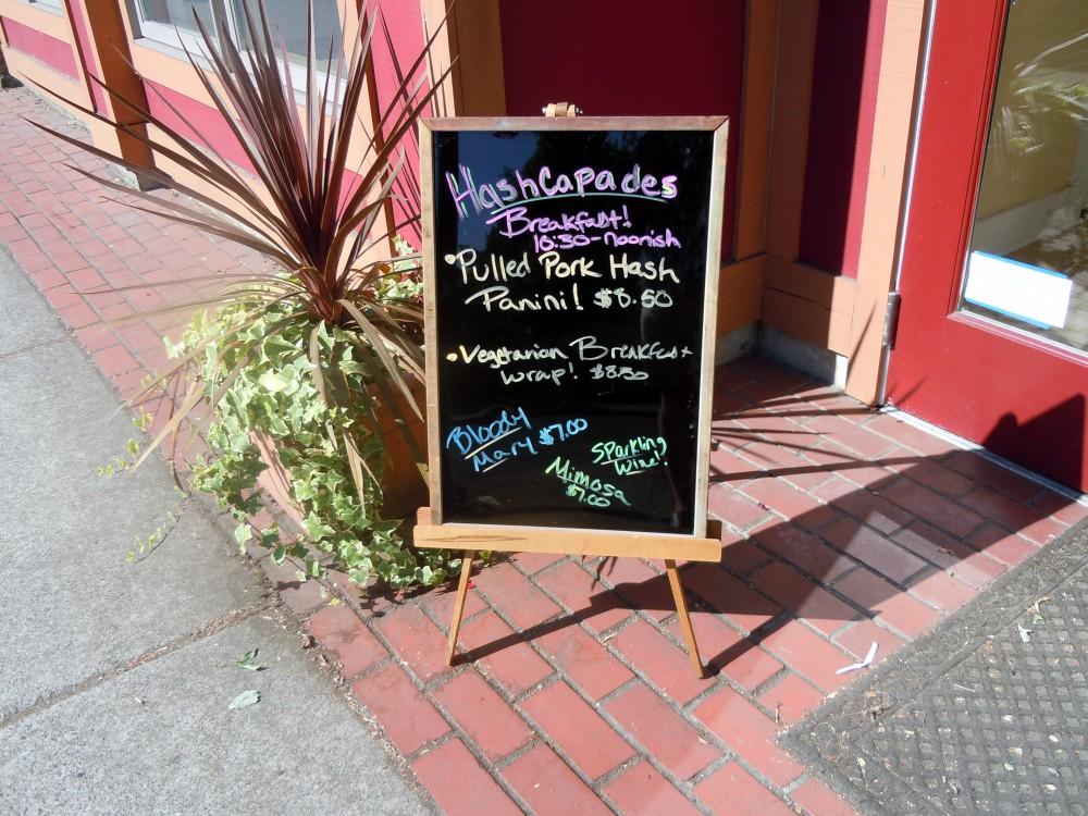 Hashcapades Signage