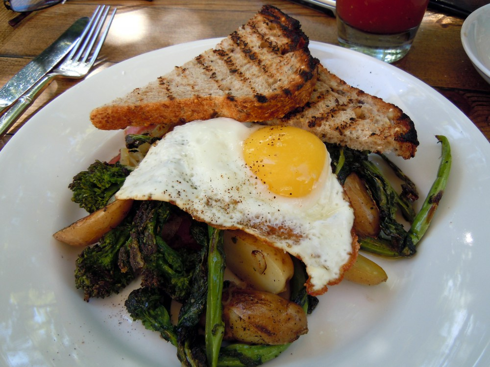 Broccoli Raab Hash
