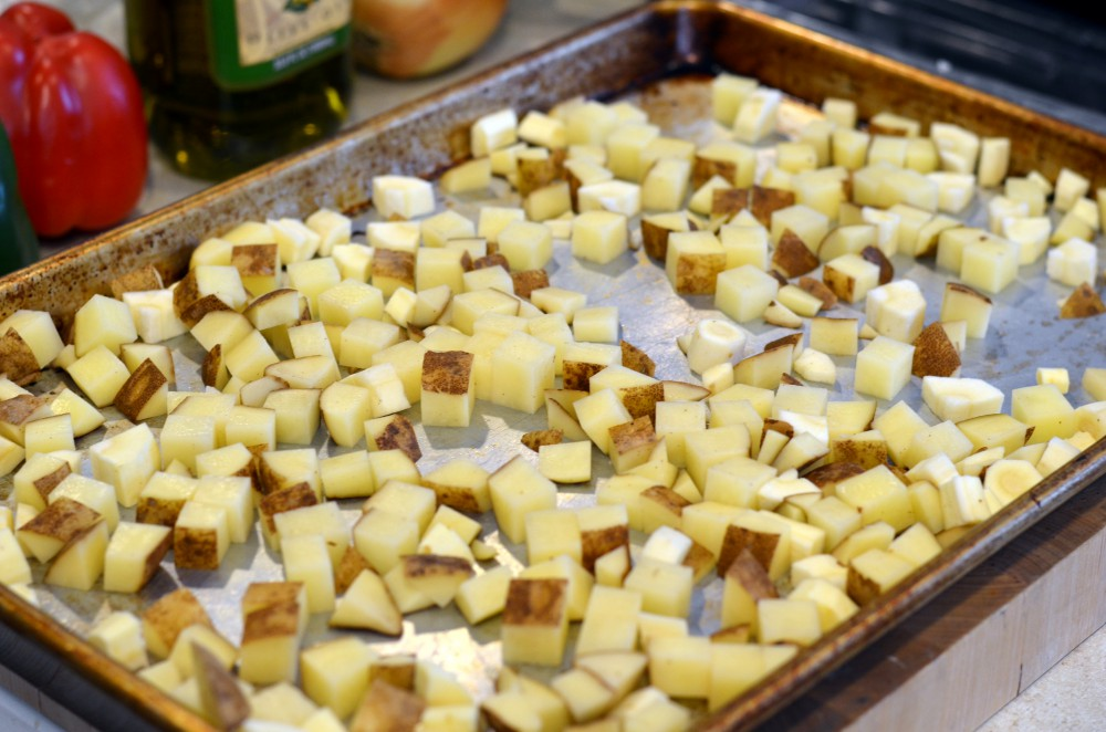 Potatoes, Parsnips & Garlic