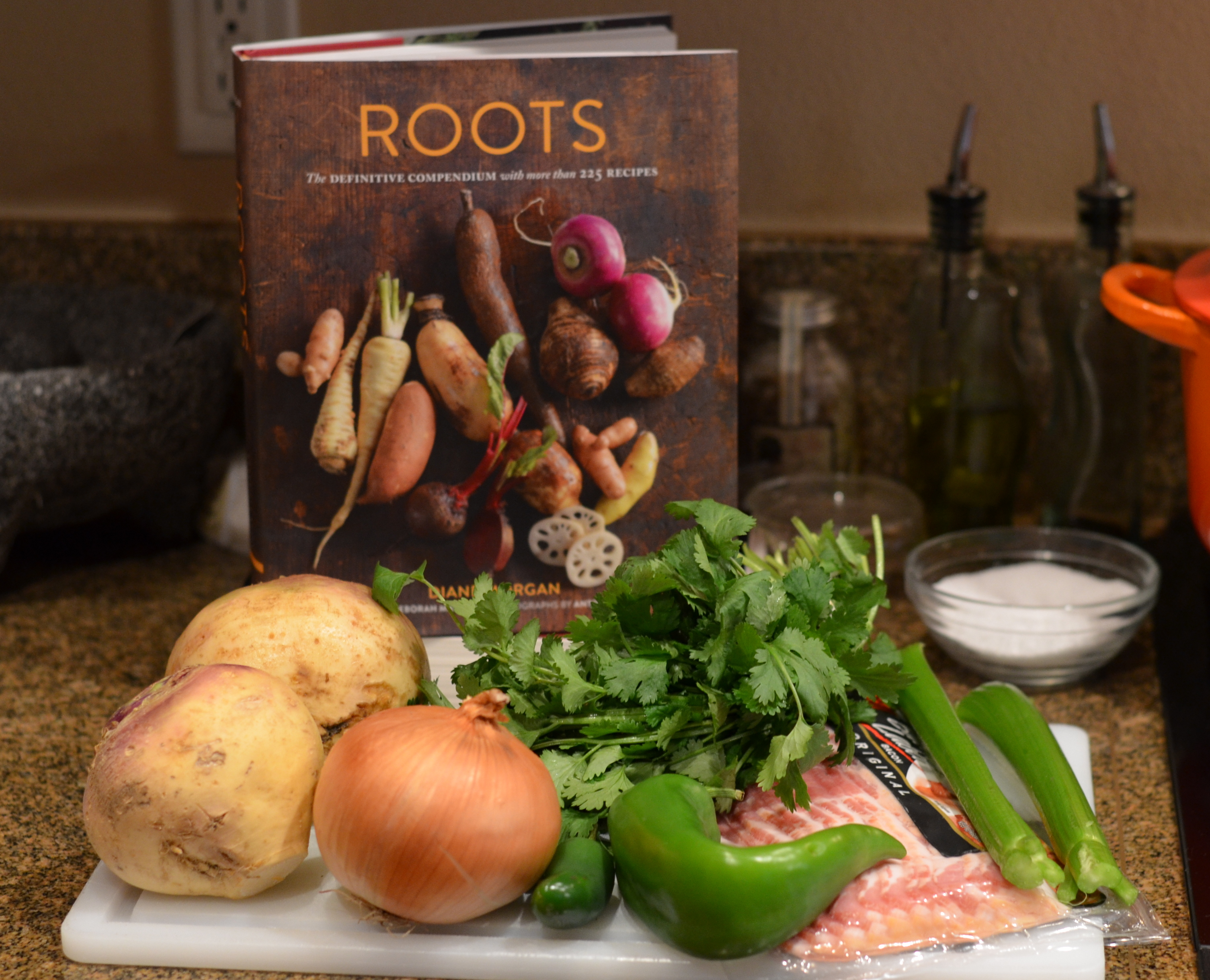 Rutabaga Hash from Roots