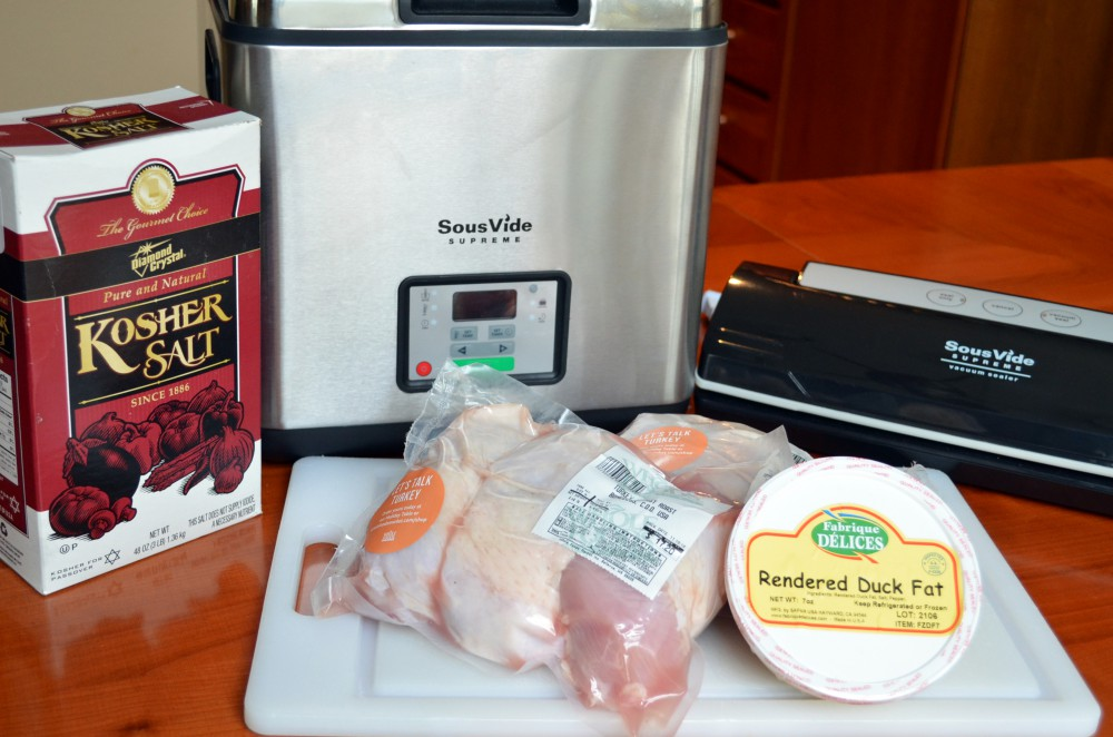 Turkey Sous Vide Start
