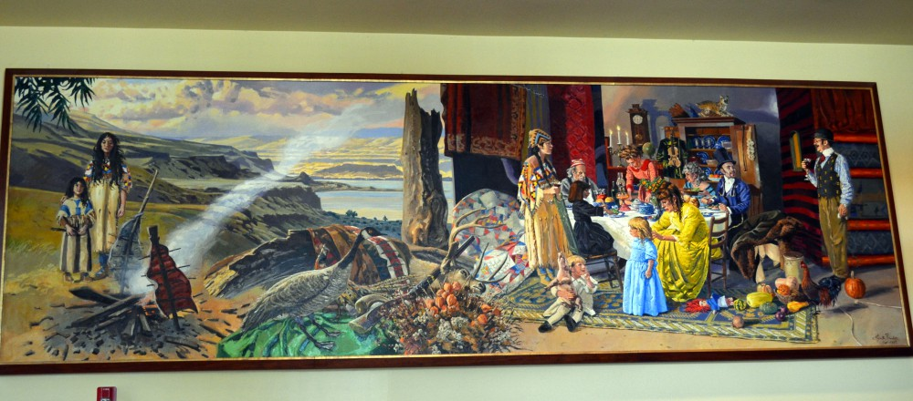 Hudson Mural