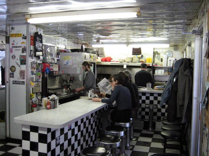Fleetwood Diner Interior