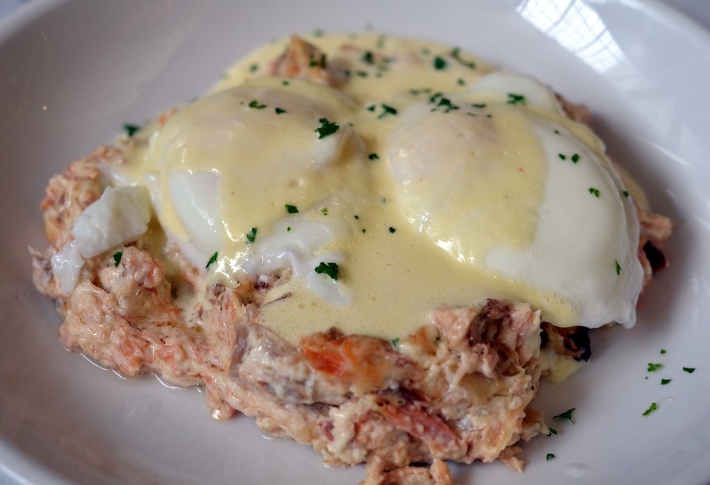 Smoked Salmon Hash at Brix Tavern in Portland, Oregon | hashcapades