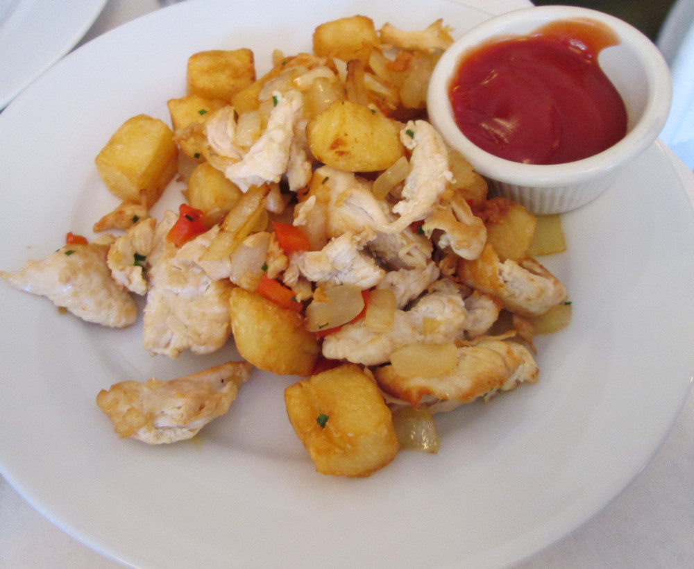 BHB Chicken Hash
